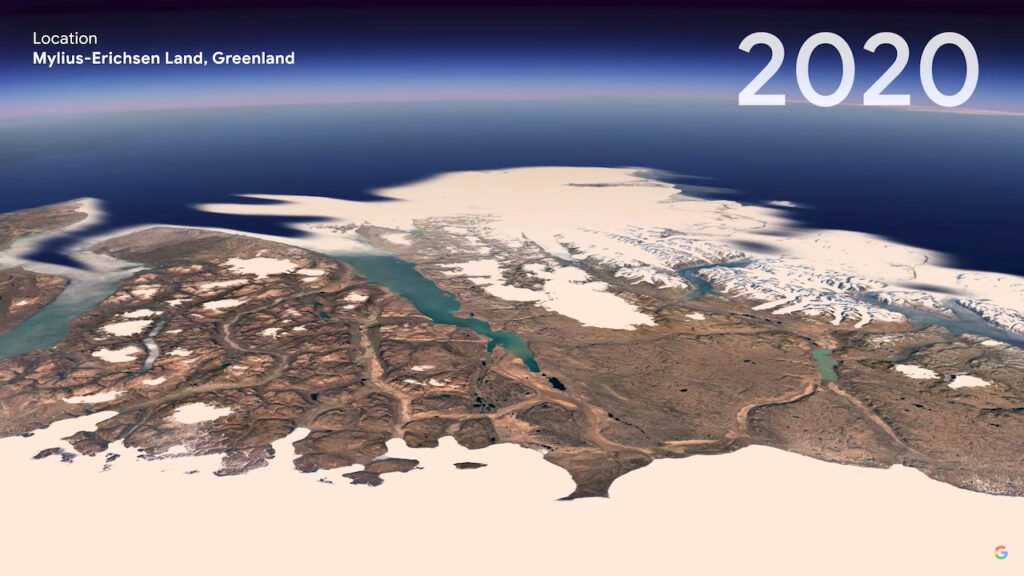 See the Planet Change With Timelapse at Google Earth